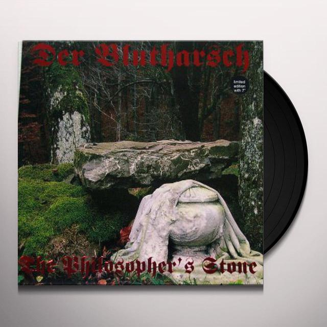 Der Blutharsch PHILOSOPHER'S STONE-RED Vinyl Record