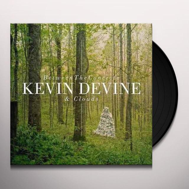 Kevin Devine BETWEEN THE CONCRETE & CLOUDS Vinyl Record - Portugal Import