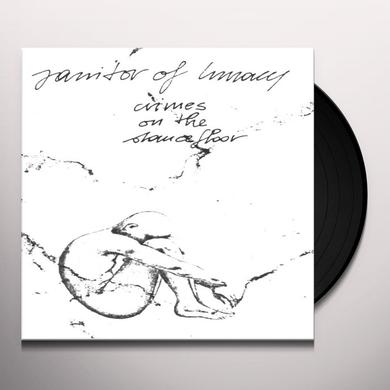 Janitor Of Lunacy CRIMES ON THE DANCEFLOOR Vinyl Record - Holland Import