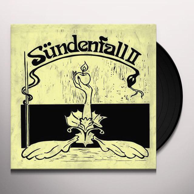 Suendenfall SUNDENFALL II Vinyl Record