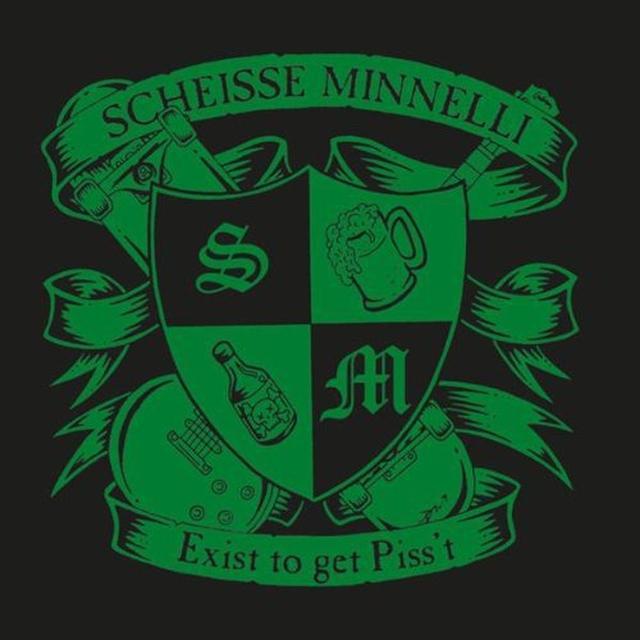 Scheisse Minnelli EXIST TO GET PISS'T (GER) Vinyl Record