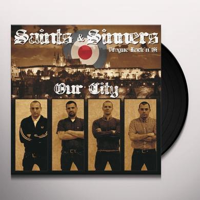 Saints & Sinners OUR CITY (GER) Vinyl Record