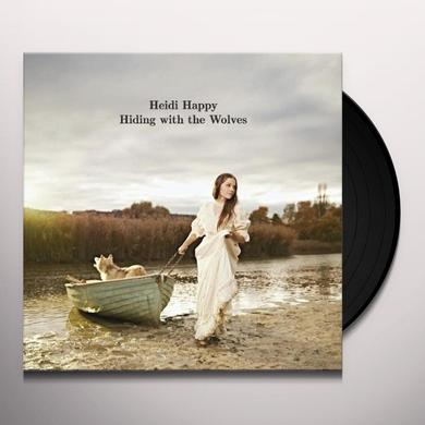 Heidi Happy HIDING WITH THE WOLVES Vinyl Record - Portugal Import