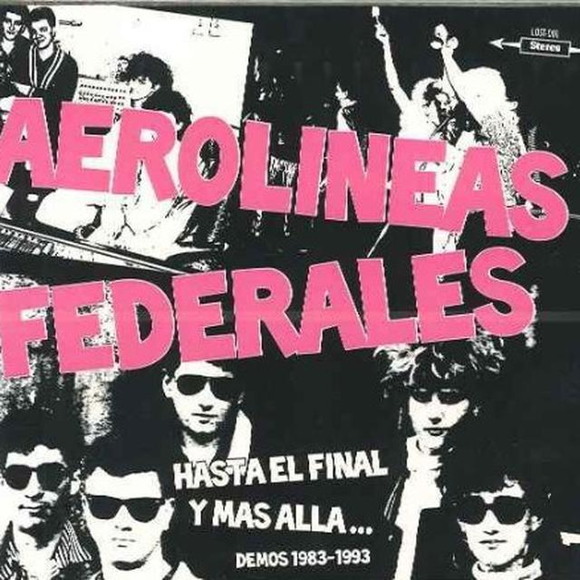 Aerolineas Federales HASTA EL FINAL Y MSSS (GER) (Vinyl)