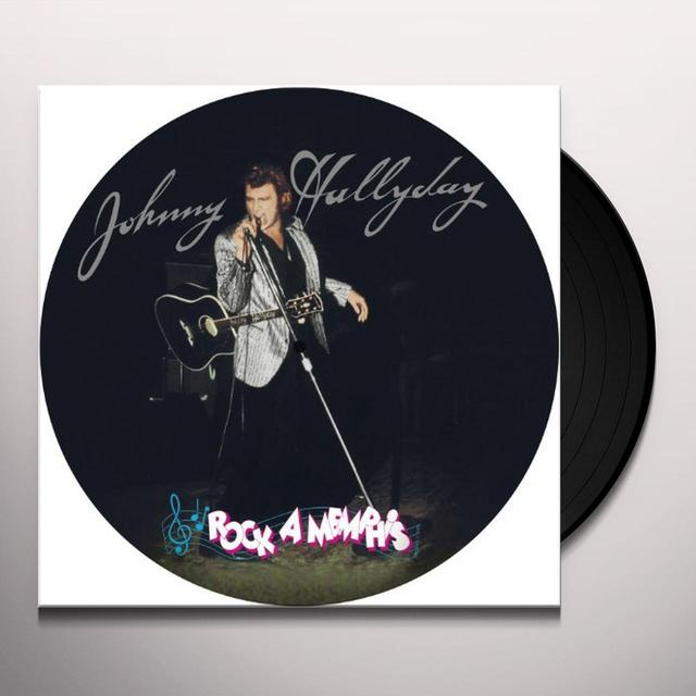 Johnny Hallyday ROCK A MEMPHIS (FRA) Vinyl Record