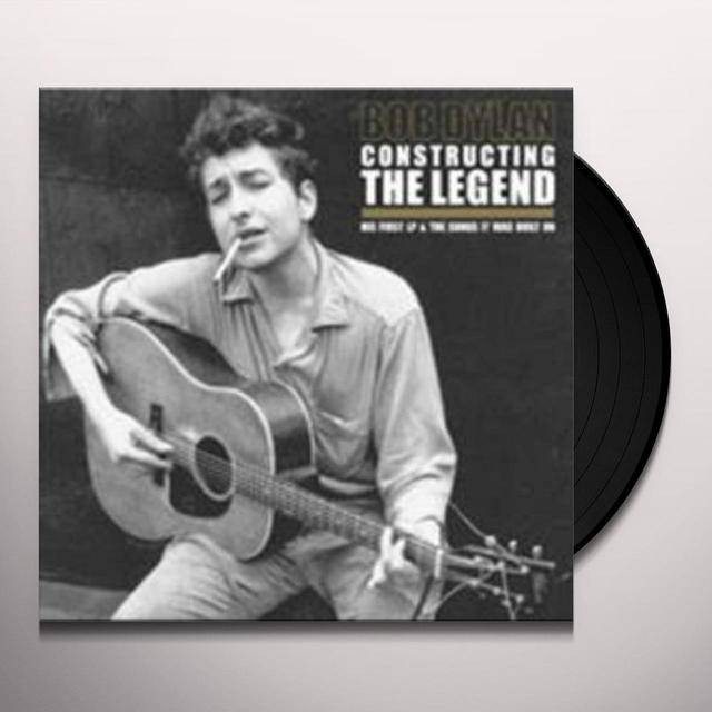 Bob Dylan CONSTRUCTING THE LEGEND Vinyl Record - UK Import