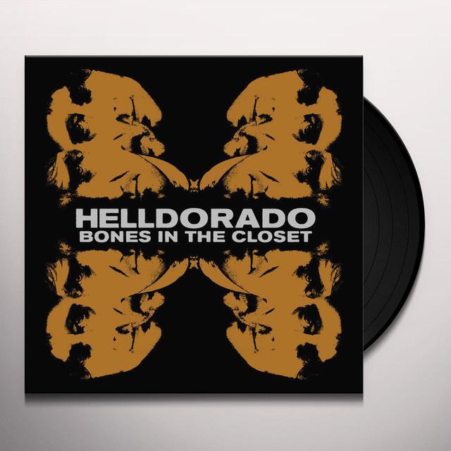 Helldorado BONES IN THE CLOSET Vinyl Record
