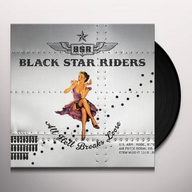 Black Star Riders ALL HELL BREAKS LOOSE Vinyl Record - UK Release
