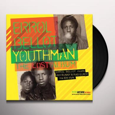 Errol Bellot YOUTHMAN-THE LOST ALBUM Vinyl Record