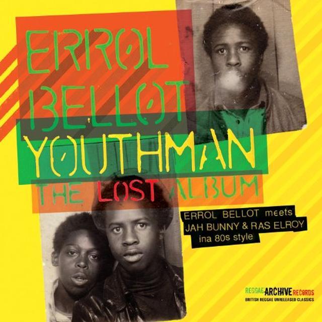 Errol Bellot YOUTHMAN-THE LOST ALBUM (GER) Vinyl Record
