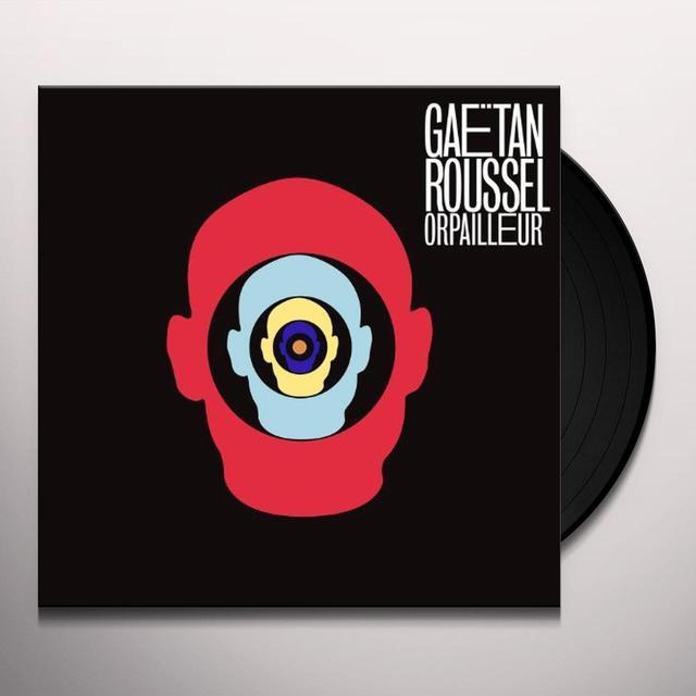 Gaetan Roussel ORPAILLEUR Vinyl Record