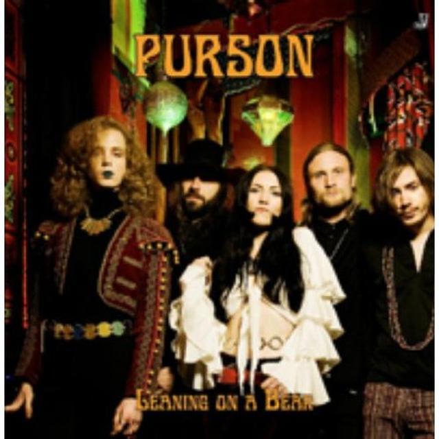Purson LEANING ON A BEAR Vinyl Record - UK Import