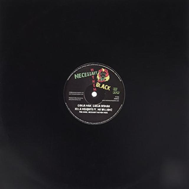 Killa Mosquito Feat Mister Williamz GANJA MAN GANJA WOMAN Vinyl Record