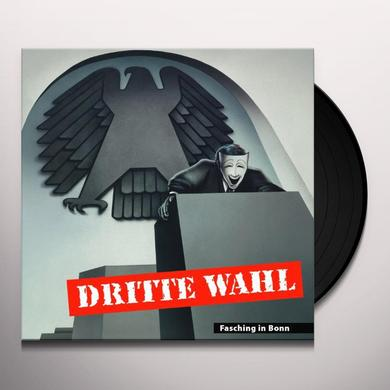 Dritte Wahl FASCHING IN BONN (RE-RELEASE) Vinyl Record