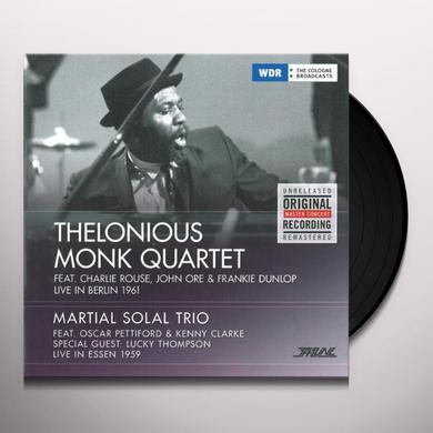 Thelonious Quartet Monk LIVE IN BERLIN '61/LIVE IN ESSEN Vinyl Record - Portugal Import