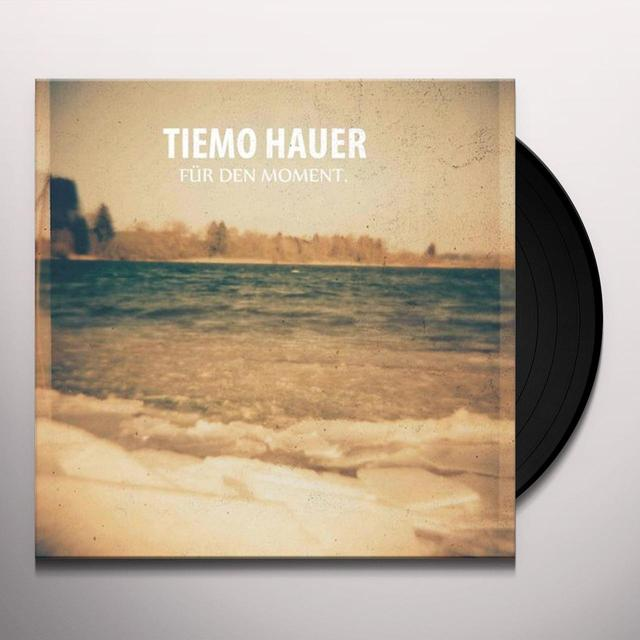 Tiemo Hauer FUER DEN MOMENT (LIMITED EDITION SIGNED GATEFOLD S Vinyl Record