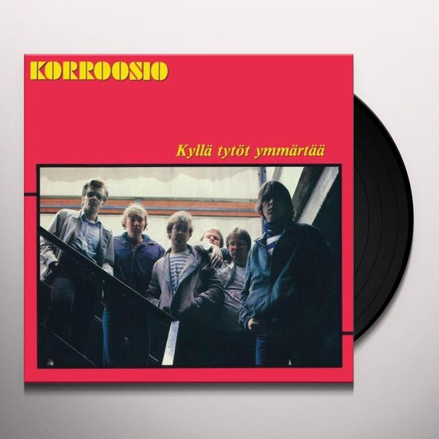 Korroosio KYLLAE TYTOET YMMAERTA Vinyl Record - Portugal Import