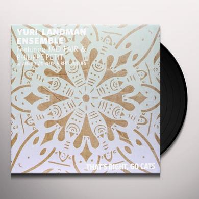 Yuri Landman Ensemble THATS RIGHT GO CATS FEAT.JAD FAIR Vinyl Record - Portugal Import