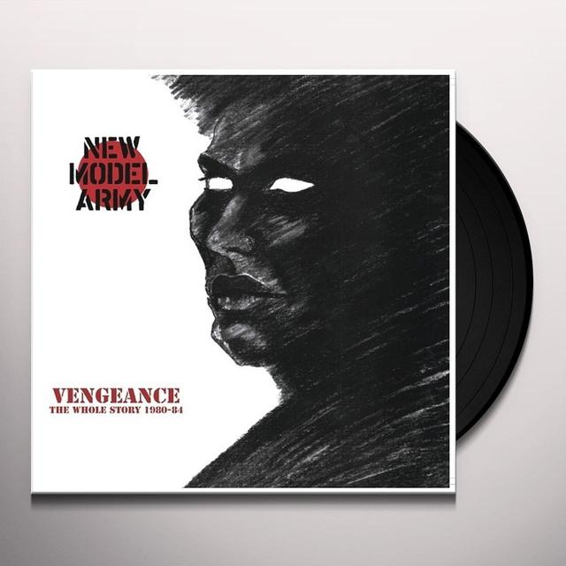 New Model Army VENGEANCE THE WHOLE STORY 1980-84 Vinyl Record - UK Import