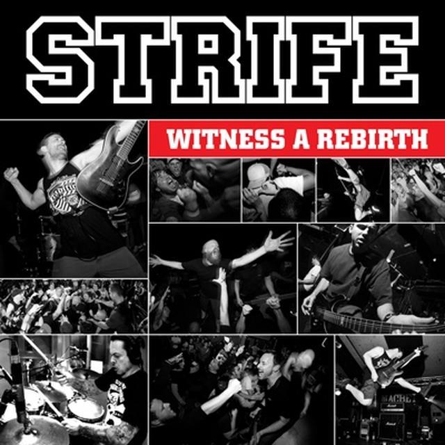Strife WITNESS A REBIRTH Vinyl Record - UK Import