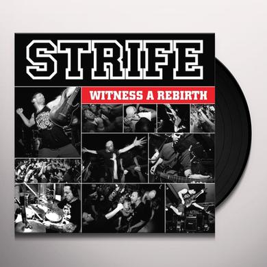 Strife WITNESS A REBIRTH Vinyl Record - UK Import