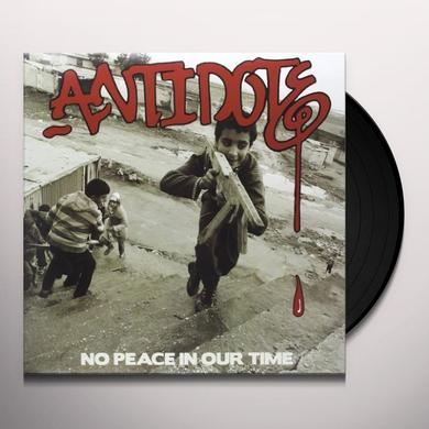 Antidote NO PEACE IN OUR TIME Vinyl Record - UK Import