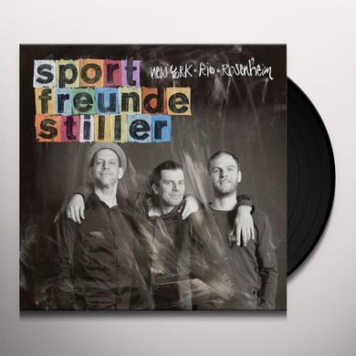 Sportfreunde Stiller NEW YORK RIO ROSENHEIM Vinyl Record