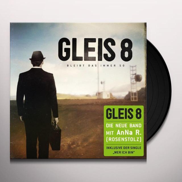Gleis 8 BLEIBT DAS IMMER SO (GER) Vinyl Record