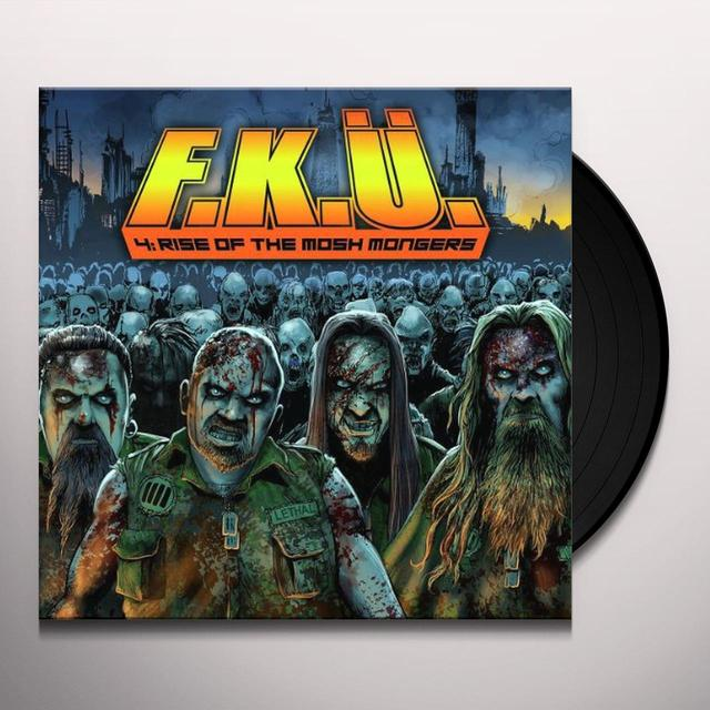 F.K.U. RISE OF THE MOSH MONGERS Vinyl Record