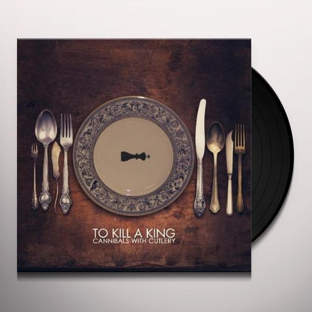 To Kill A King CANNIBALS WITH CUTLERY-DELUXE EDITION Vinyl Record - UK Release