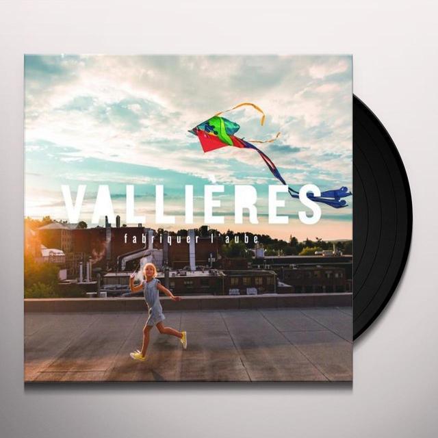 Vincent Vaillieres FABRIQUER L'AUBE Vinyl Record