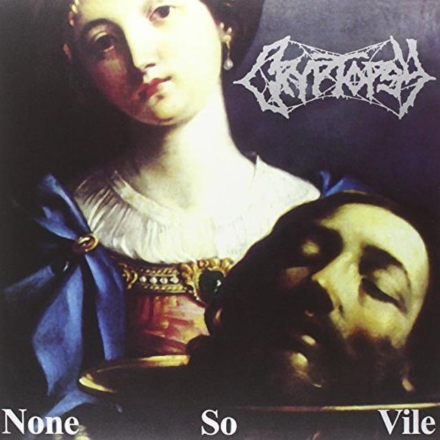 Cryptopsy NONE SO VILE (BLUE SPLATTER VINYL) Vinyl Record - Holland Import