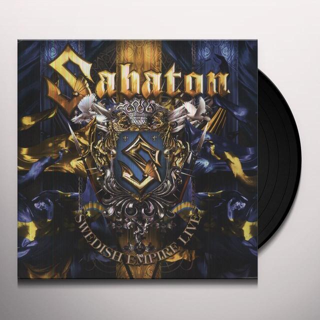 Sabaton SWEDISH EMPIRE LIVE Vinyl Record - UK Import