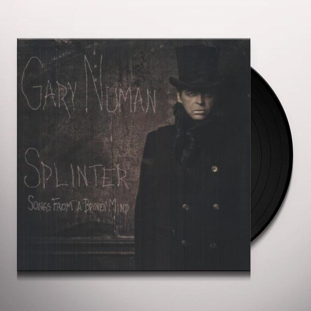 Gary Numan SPLINTER (SONGS FROM A BROKEN MIND) Vinyl Record - UK Import