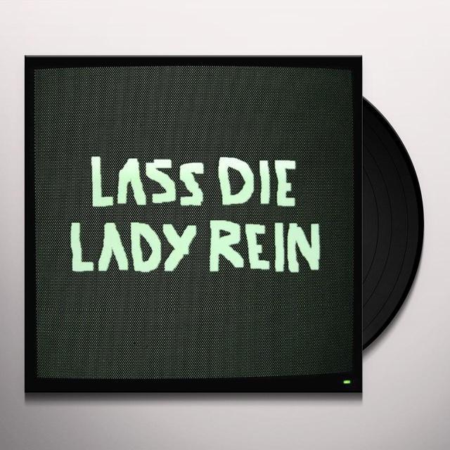 Almut Klotz & Reverend Dabeler LASS DIE LADY REIN Vinyl Record