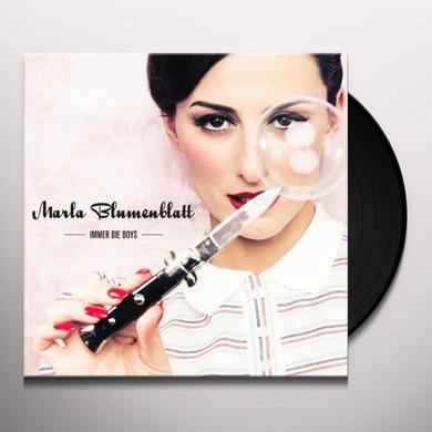 Marla Blumenblatt IMMER DIE BOYS Vinyl Record