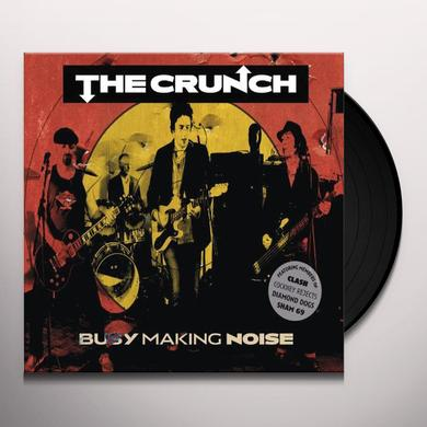 Crunch BUSY MAKING NOISE Vinyl Record