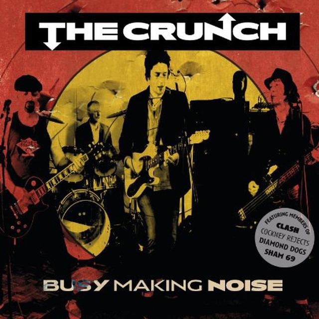 Crunch BUSY MAKING NOISE Vinyl Record - UK Import