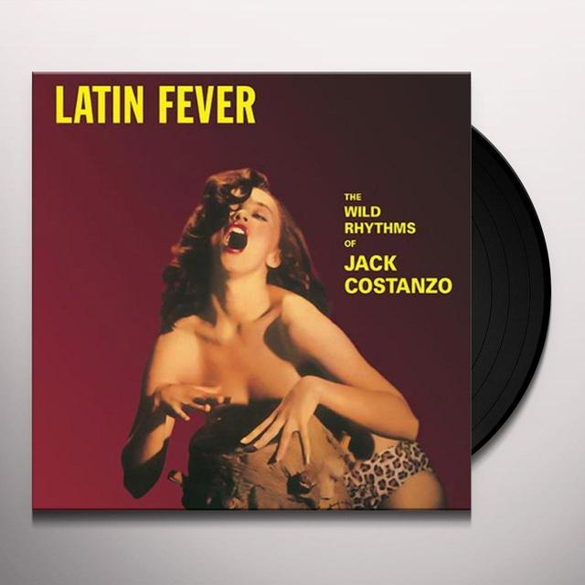 Jack Costanzo LATIN FEVER Vinyl Record - Italy Import