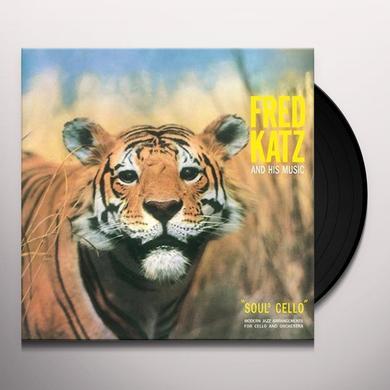 Fred Katz & His Music SOUL CELLO Vinyl Record - Italy Import