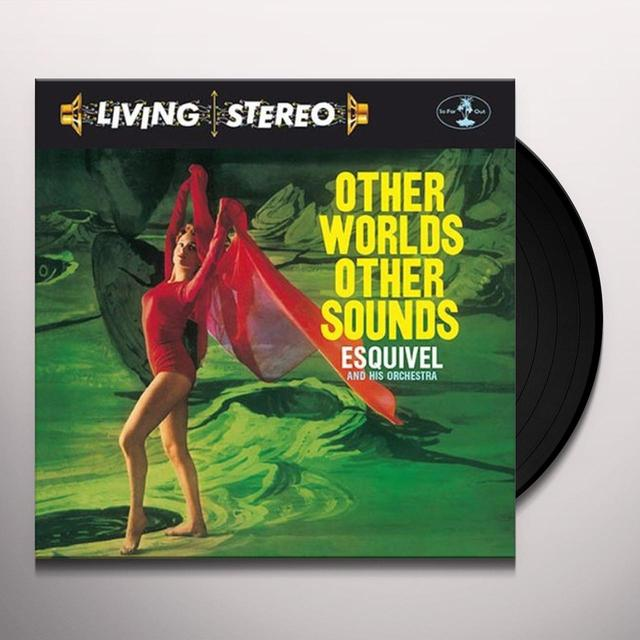 Esquivel & His Orchestra OTHER WORLDS OTHER SOUND Vinyl Record - Italy Release