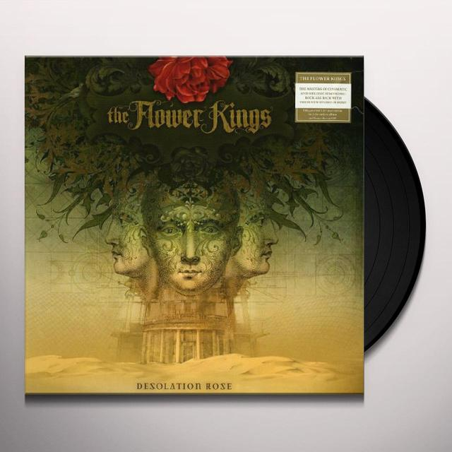 Flower Kings DESOLATION ROSE Vinyl Record