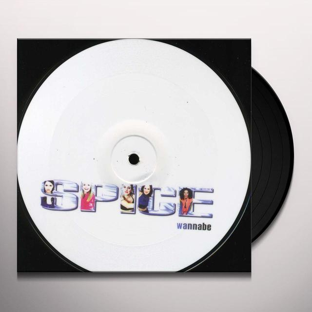 Spice Girls WANNABE Vinyl Record - Holland Release
