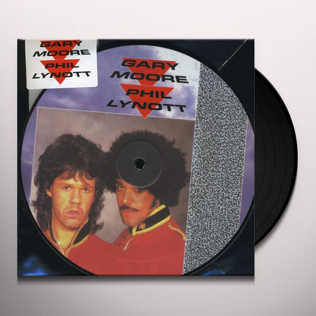 Gary Moore OUT IN THE FIELDS Vinyl Record - UK Release