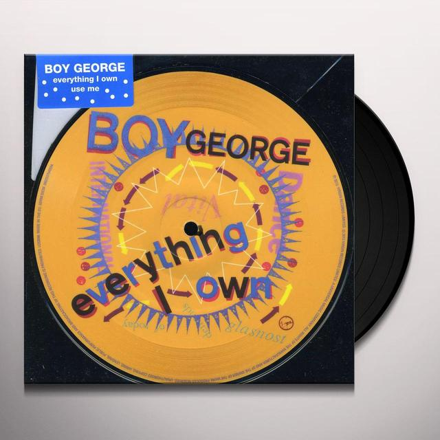 Boy George EVERYTHING I OWN Vinyl Record - UK Import
