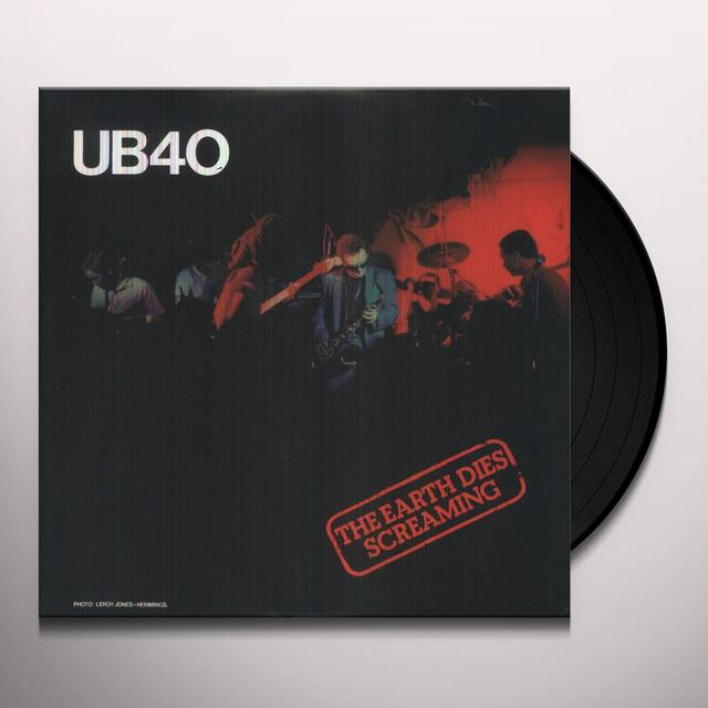 Ub40 EARTH DIES SCREAMING Vinyl Record - Canada Import