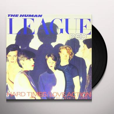 The Human League LOVE ACTION (I BELIEVE IN LOVE) Vinyl Record - Canada Import