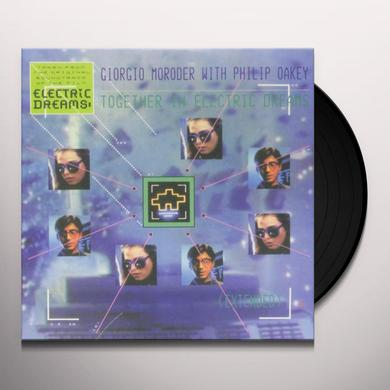 Moroder TOGETHER IN ELECTRIC DREAMS Vinyl Record - Canada Import