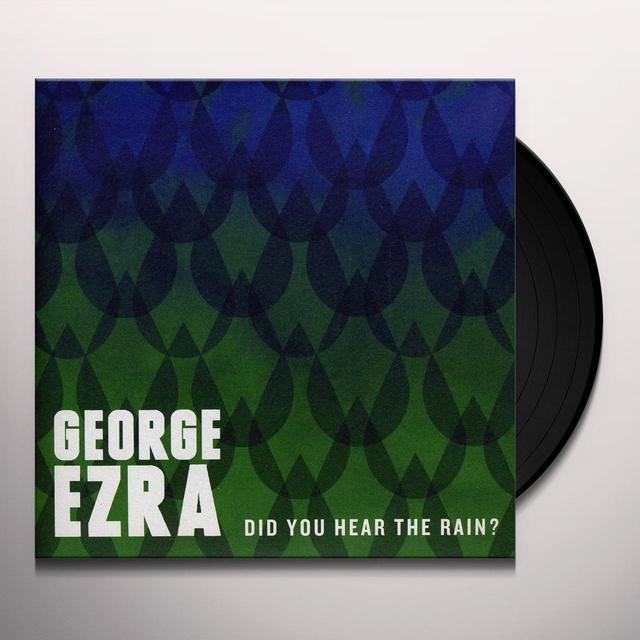 George Ezra DID YOU HEAR THE RAIN? Vinyl Record - Holland Import