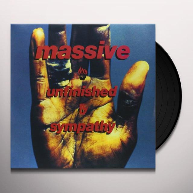 Massive Attack UNFINISHED SYMPATHY Vinyl Record - Holland Import